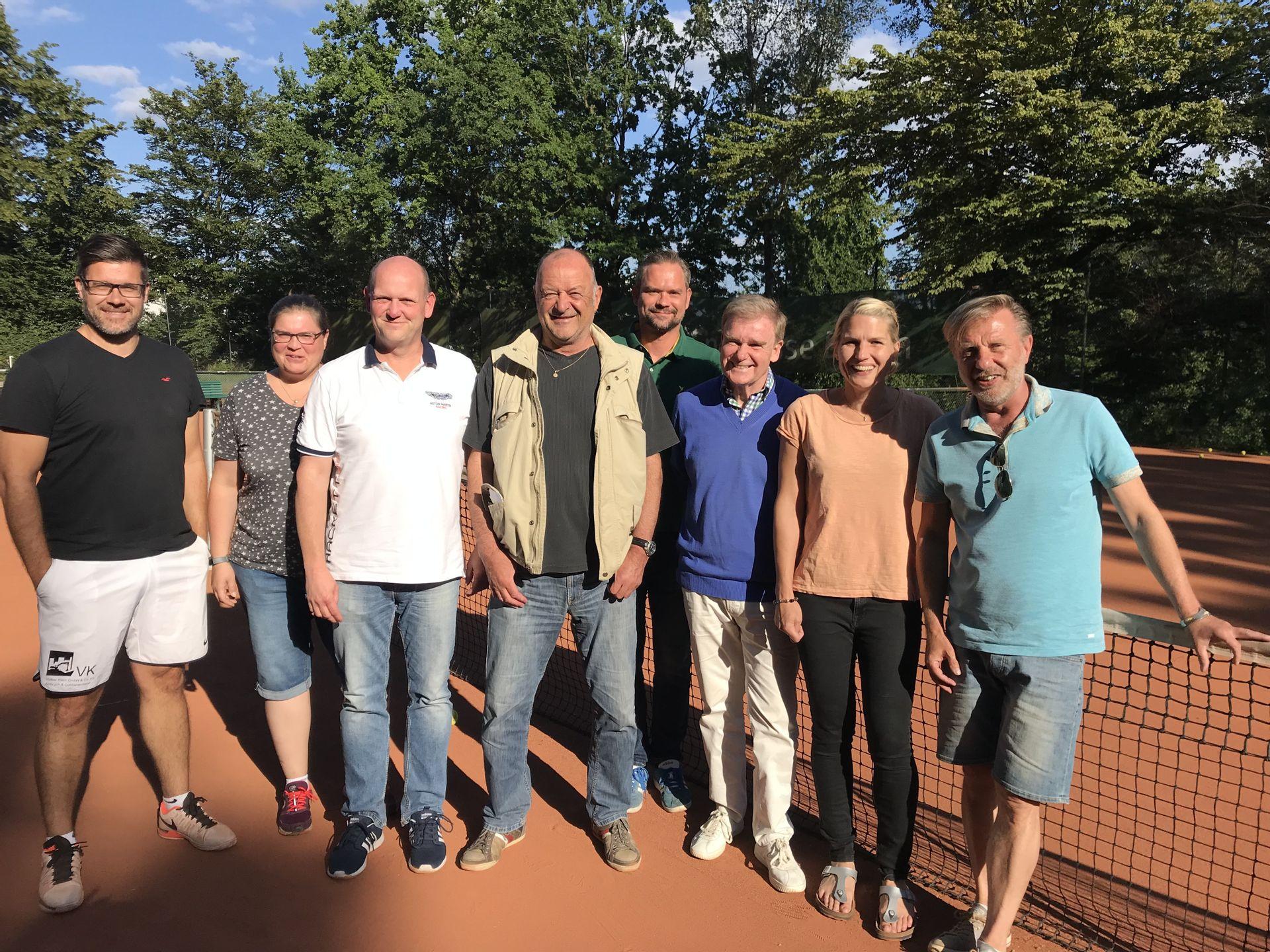 Vorstand   TC RW STEELE - TENNIS IN ESSEN