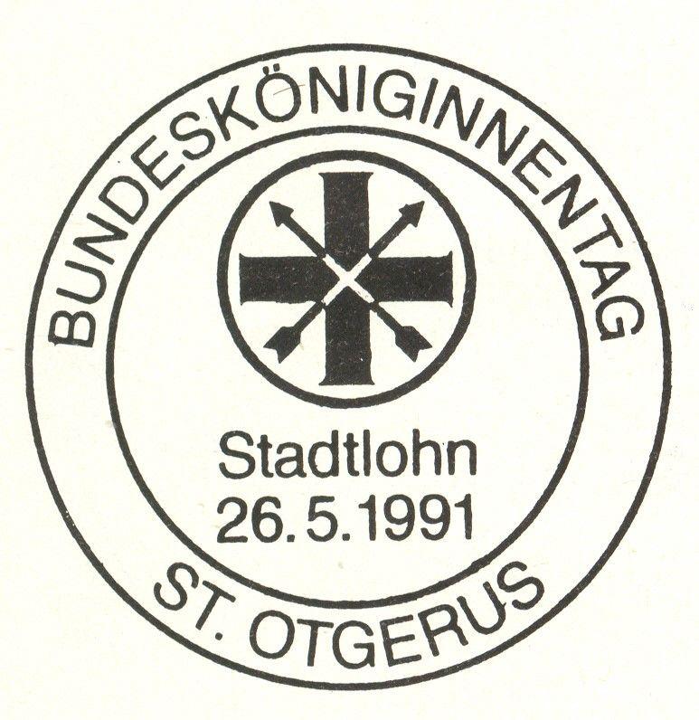 Bundesköniginnentag 1991 in Stadtlohn