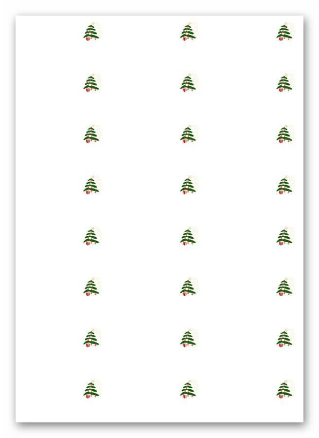 Weihnachtsetiketten Vorlagen | IntuiFlex