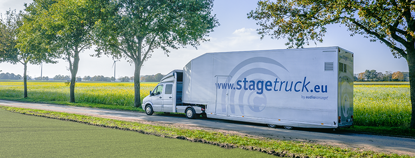 Stagetruck - made by audiokonzept