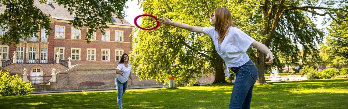 Spiel, Sport und Spaß im Schlosspark - Toolbox