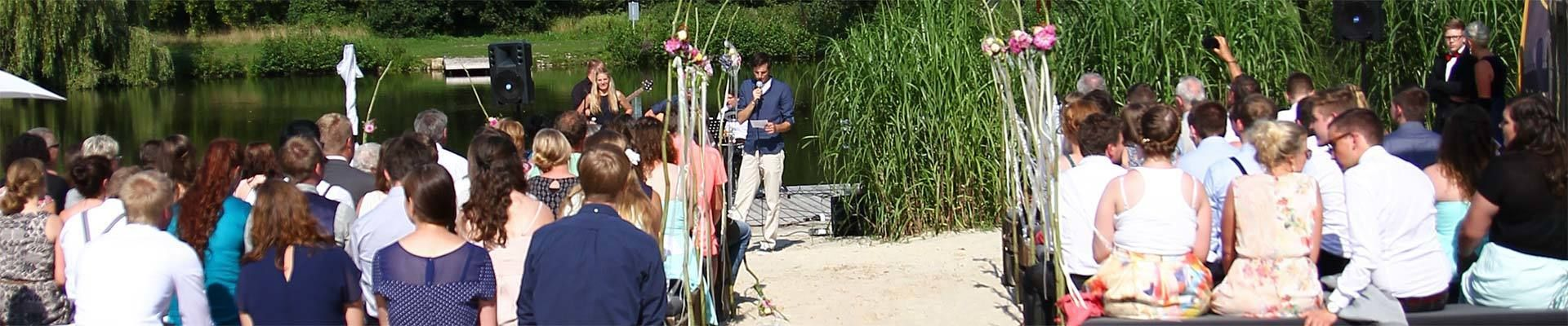Feiern am Berkelsee | Offshore Berkelbeach