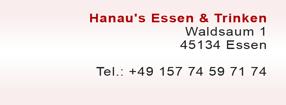 Termine | Hanau's Essen & Trinken