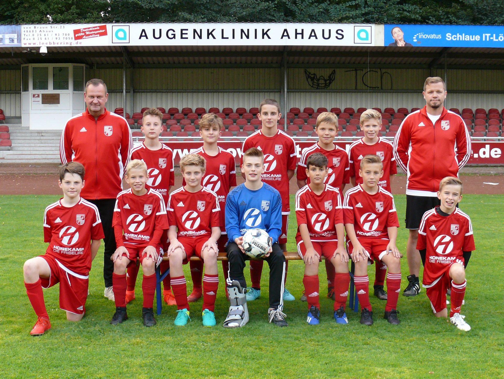 D1-Junioren | SV Eintracht Ahaus