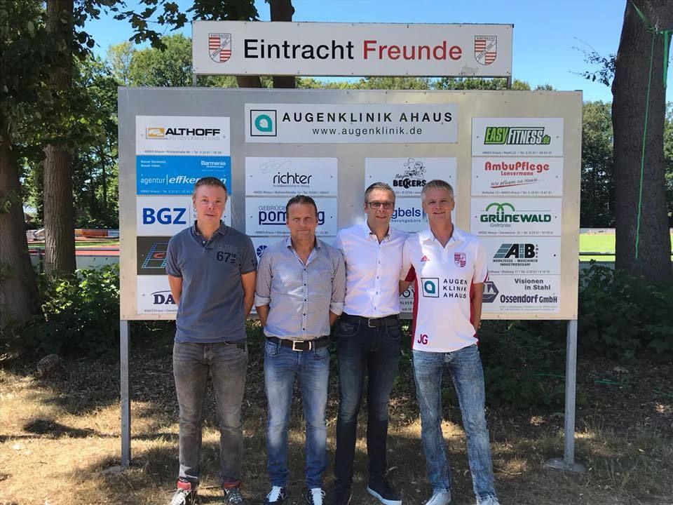 Unser Vorstand | SV Eintracht Ahaus