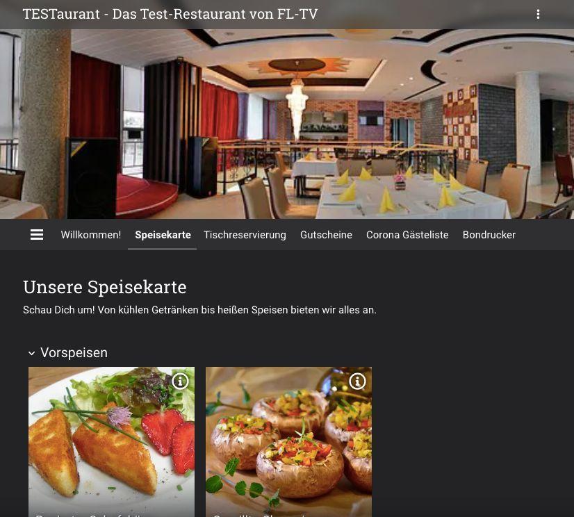 TESTaurant - unser Test-Restaurant