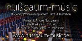 Anmelden | Nußbaum Music