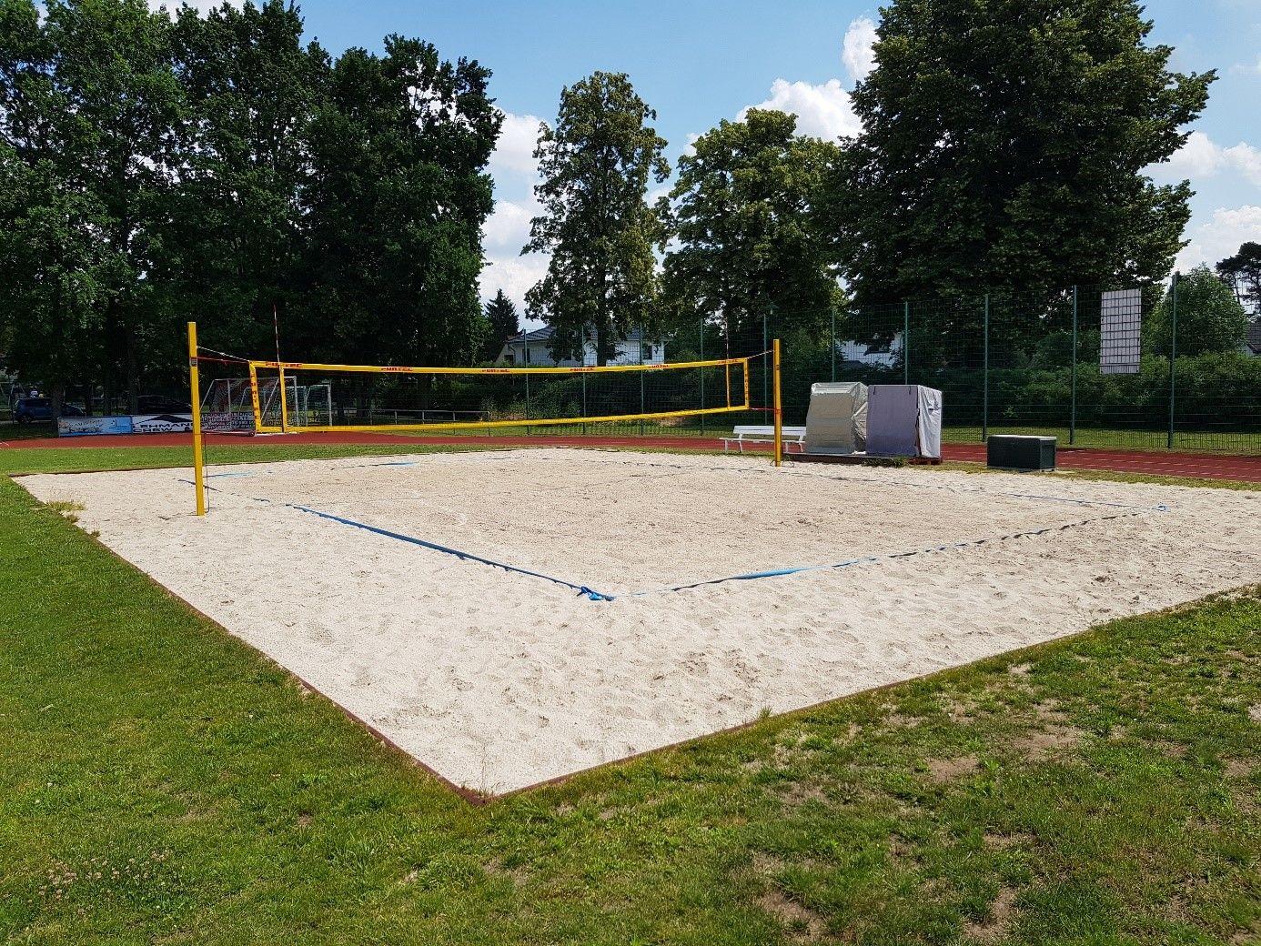 Beachvolleyballfeld | BSV Rot Weiß Schönow