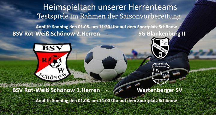 Aktuelles | BSV Rot Weiß Schönow