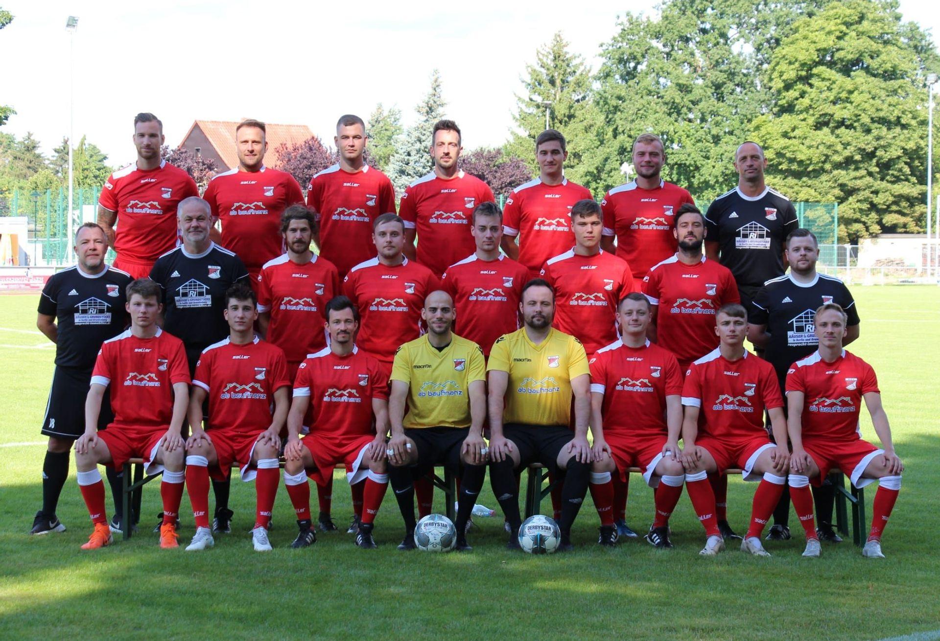 1. Herrenmannschaft   BSV Rot Weiß Schönow