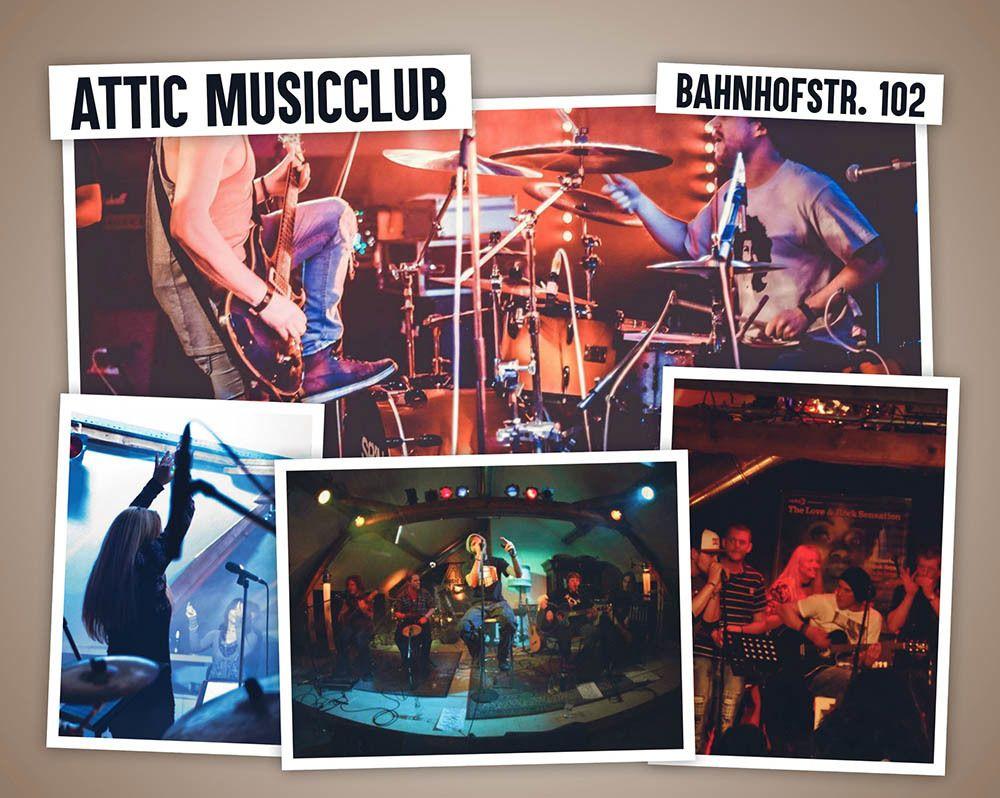Herzlich Willkommen im Attic Musicclub -
