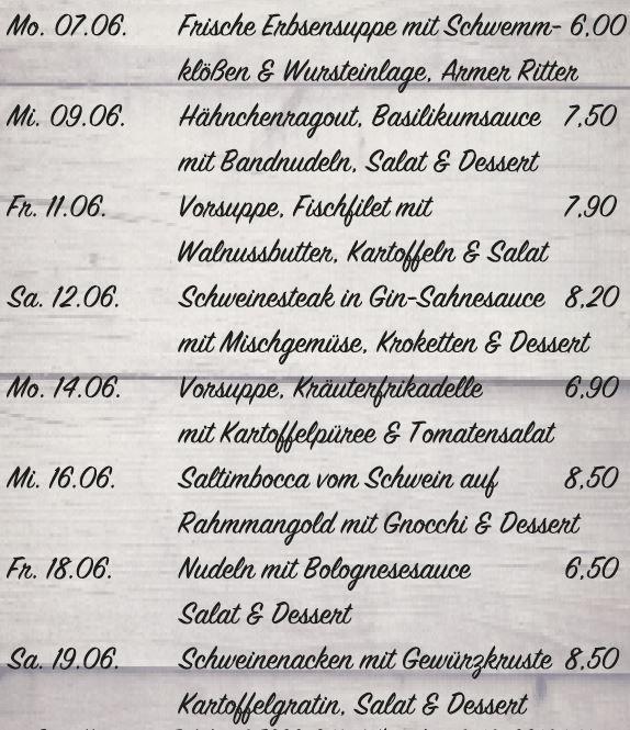 Bunsen Kantine | Gasthaus Bunse
