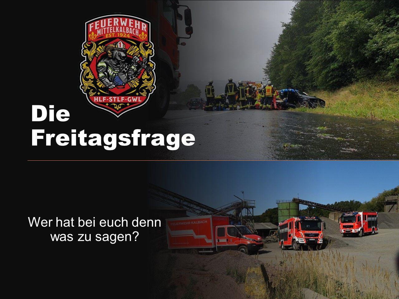 Aktuelle Neuigkeiten   Feuerwehr Kalbach