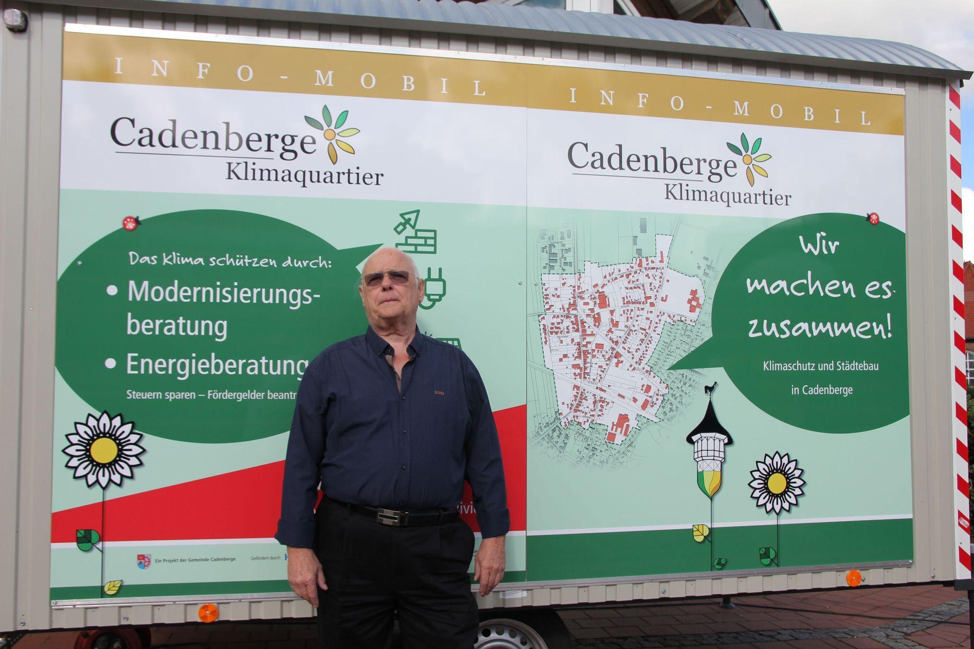 Der Cadenberger Wochenmarkt donnerstags ab 8