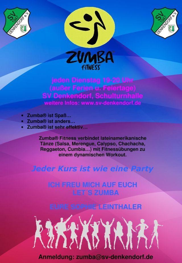 Zumba-Fitness   SV Denkendorf