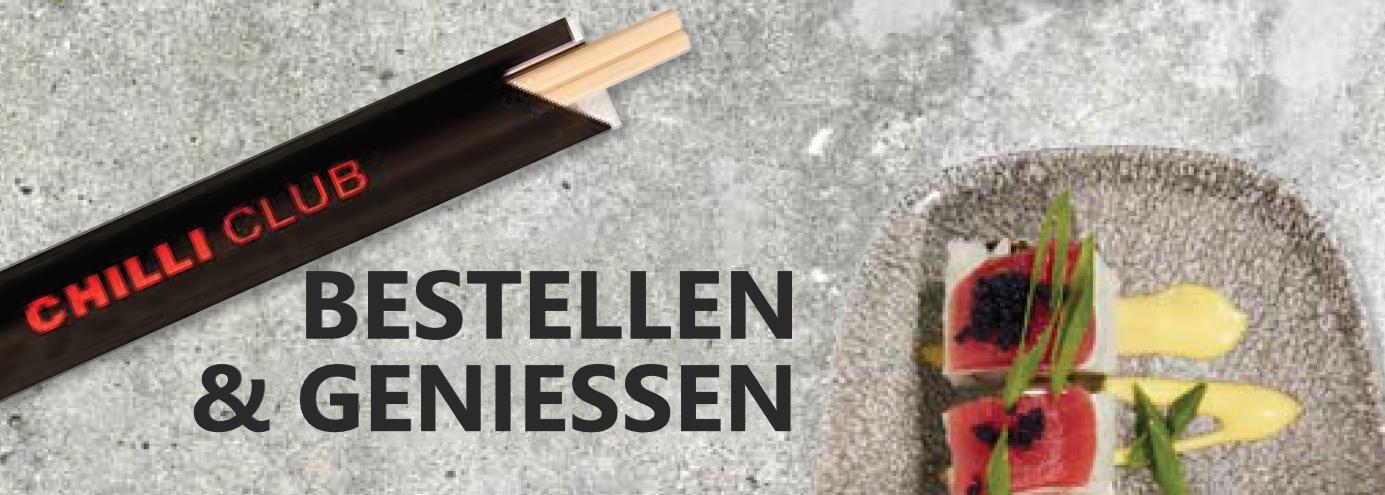 BESTELLEN & GENIESSEN Bestell' Deine