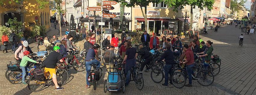 Radfahrende regionale Facebookseiten | ADFC