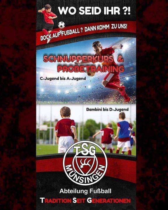 """TSG Münsingen - Abt. Fußball """"Aktuelles"""""""