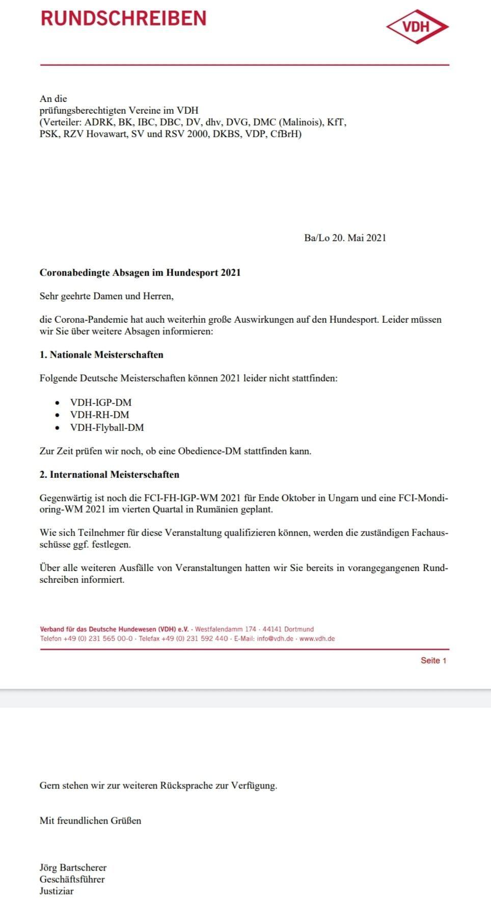 Aktuelle Neuigkeiten | www.flyball.de