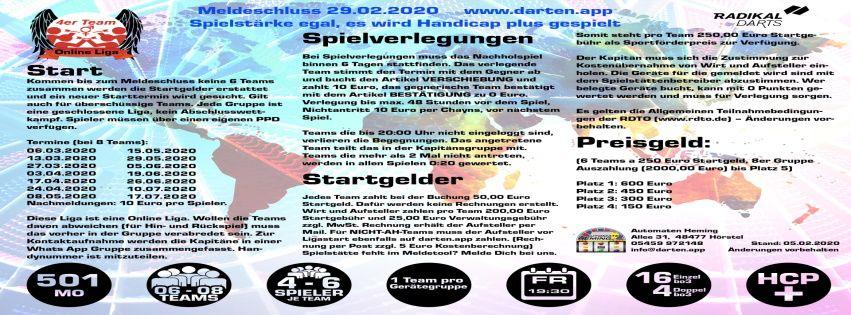 Meldetool für 4er-Team-Liga