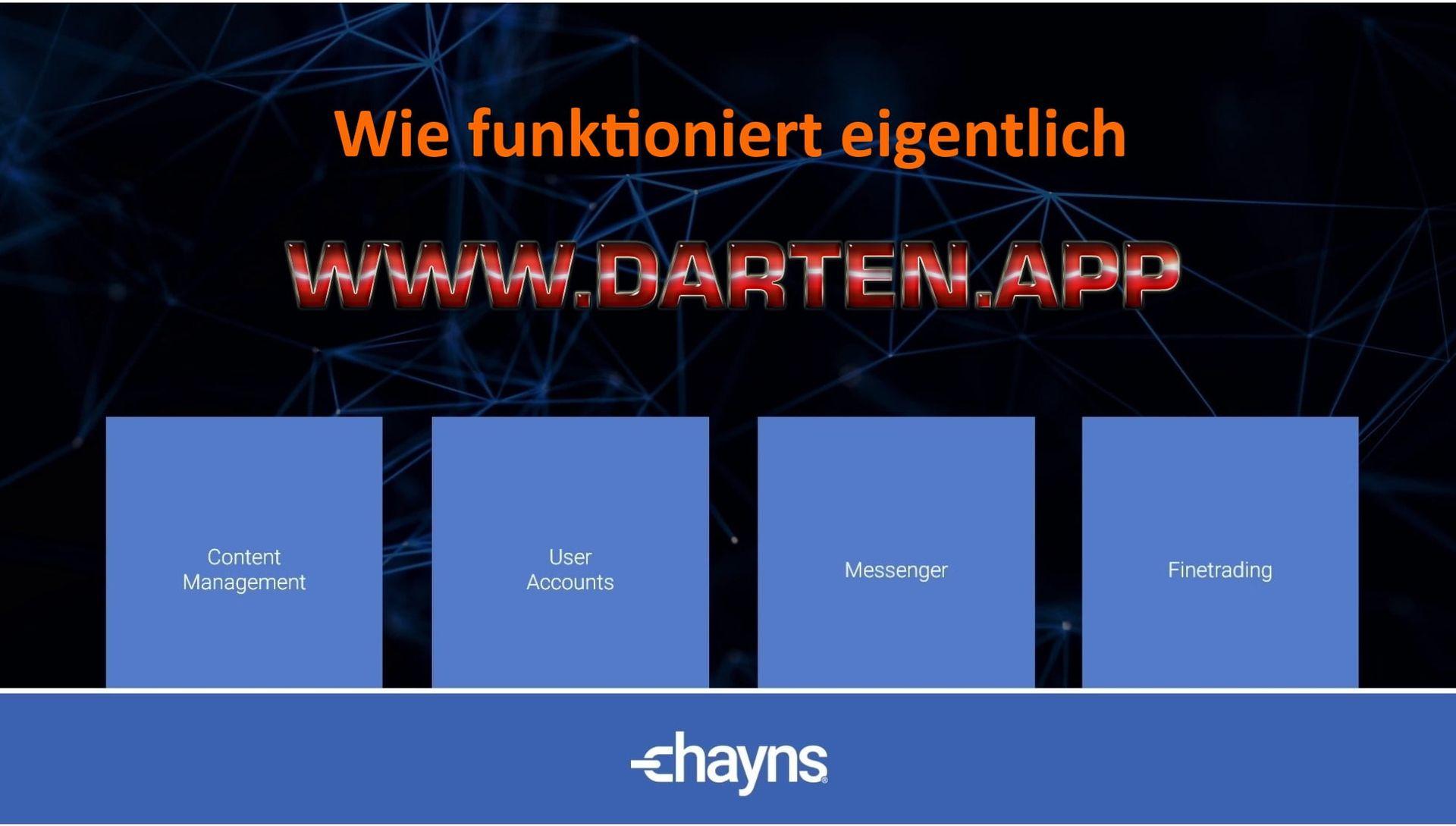 Aktuell | darten.app by Automaten Heming, Hörstel