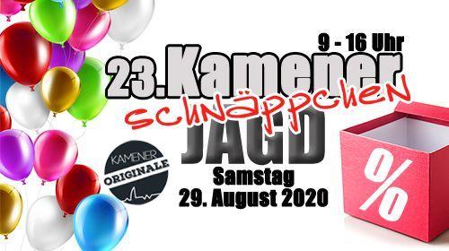 Kamener Schnäppchenjagdam 29. August 2020