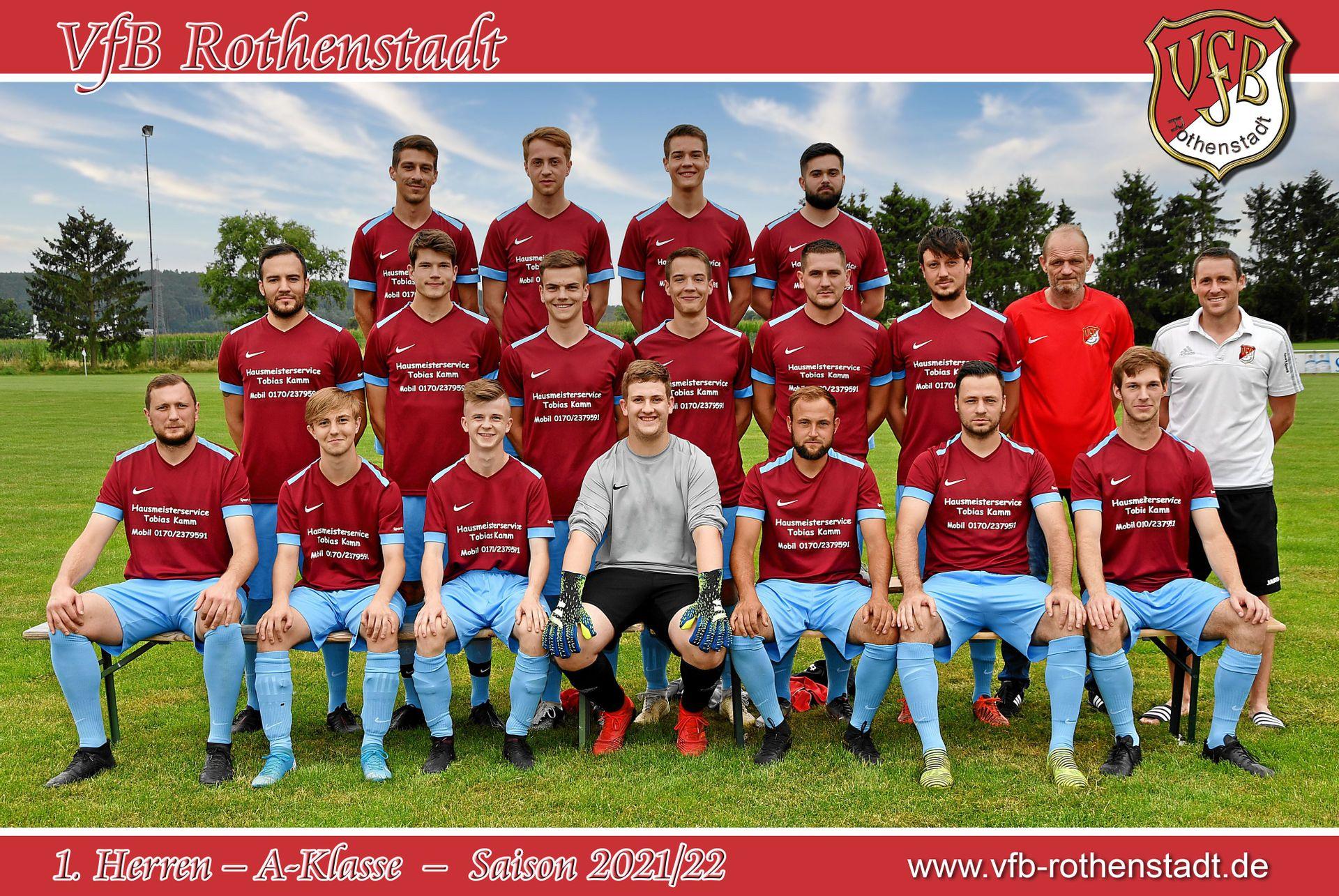 1.Herren - 1. Mannschaft | VfB Rothenstadt