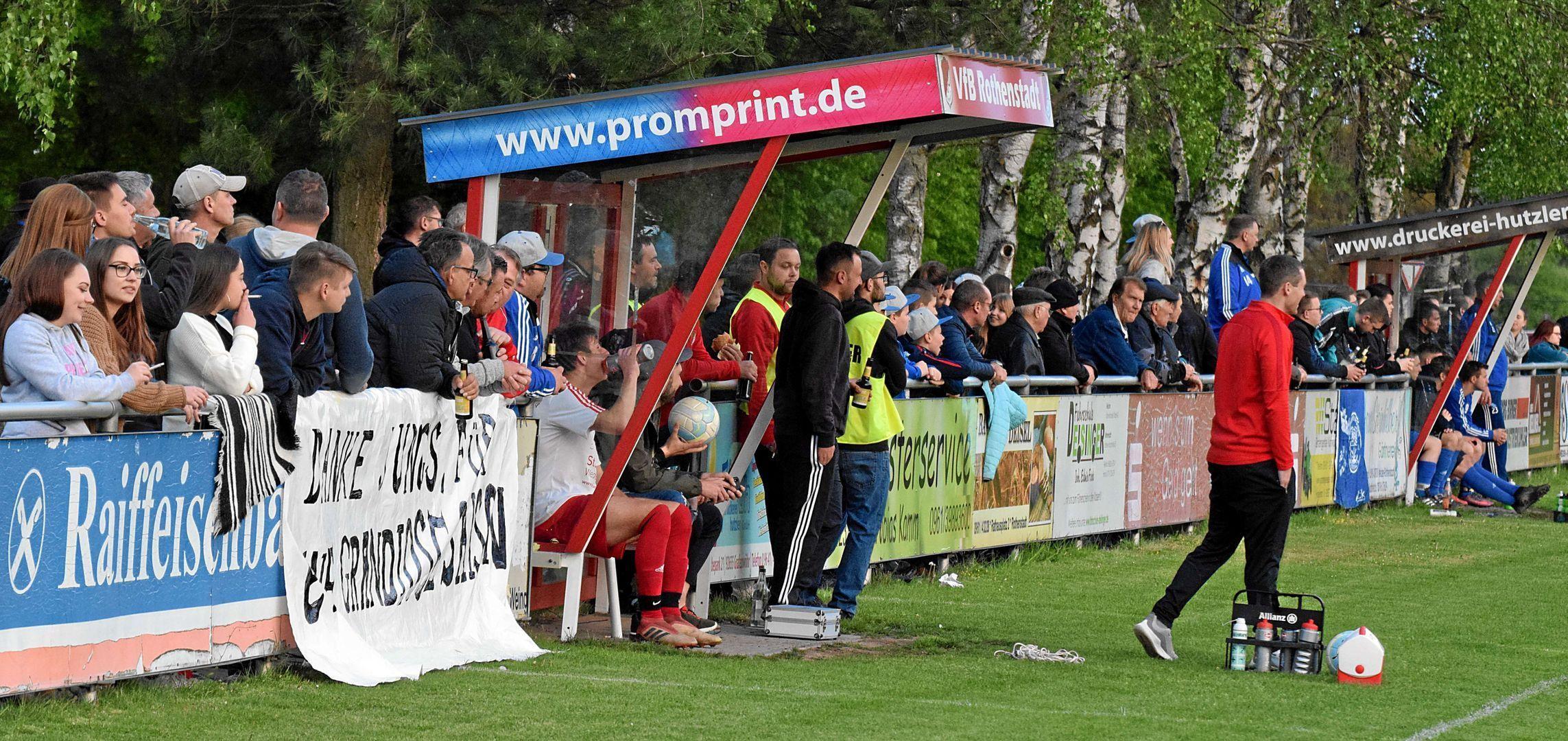 Herzlich willkommen beimVfB Rothenstadt -