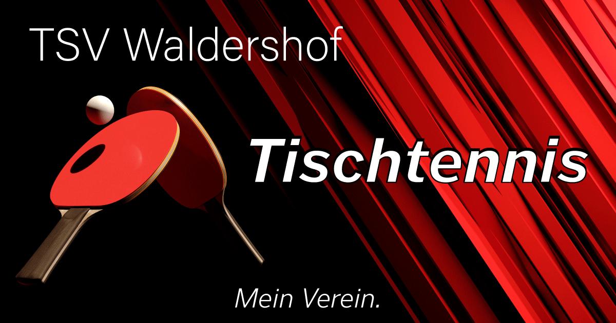 Tischtennis 2. Jugend | TSV Waldershof 1906 e.V.