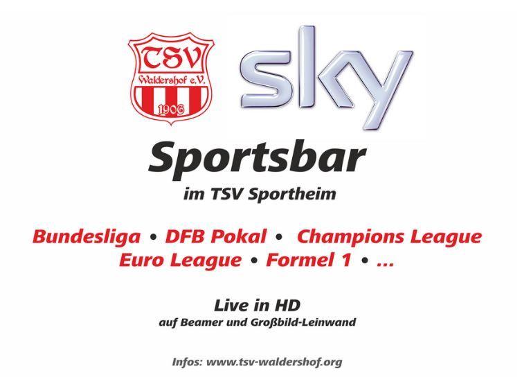 Sky Sportsbar | TSV Waldershof 1906 e.V.