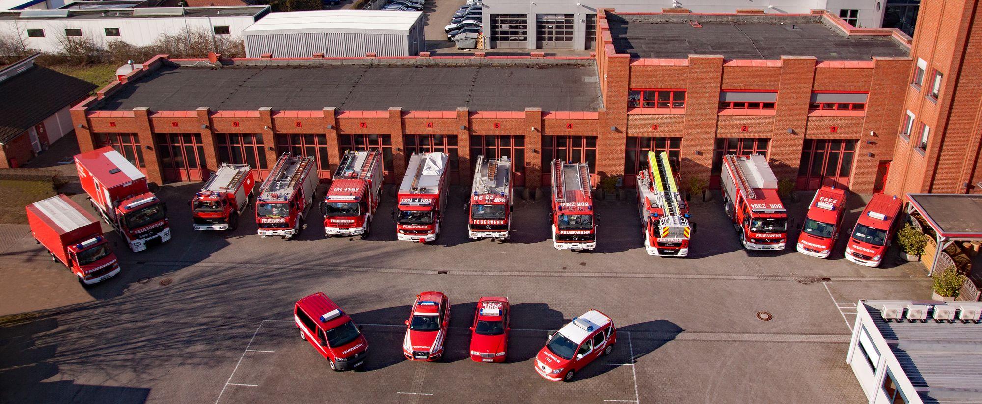Unsere Fahrzeuge | Feuerwehr Ahaus - Löschzug
