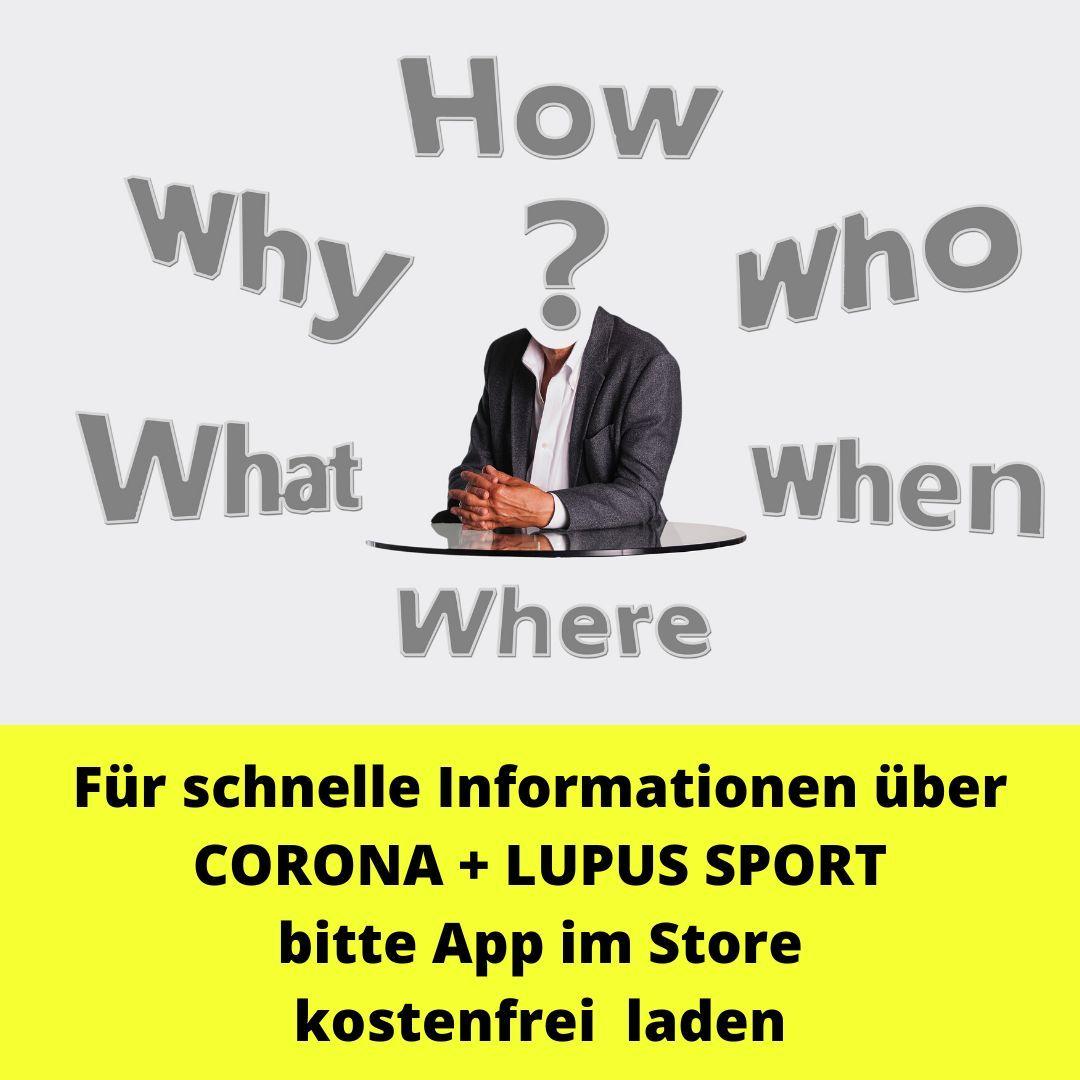 INFO ZU CORONA | Lupus Sport