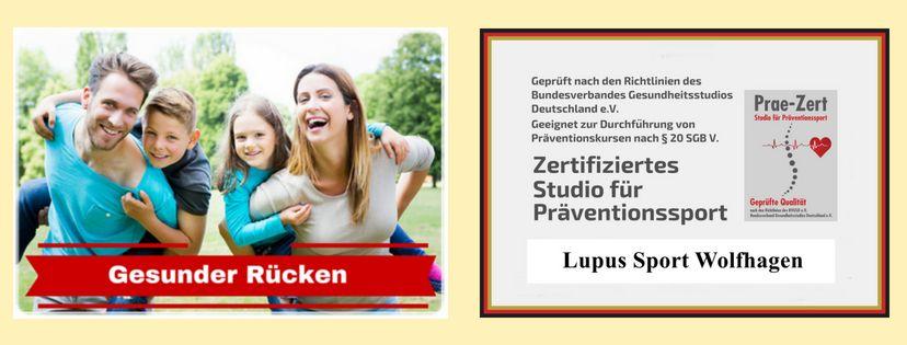 IHRE LÖSUNG MIT UNS - Gesunder Rücken | Lupus