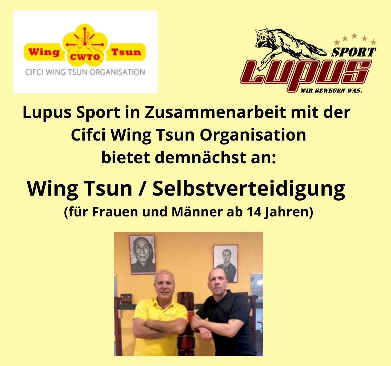 WING TSUN | Lupus Sport