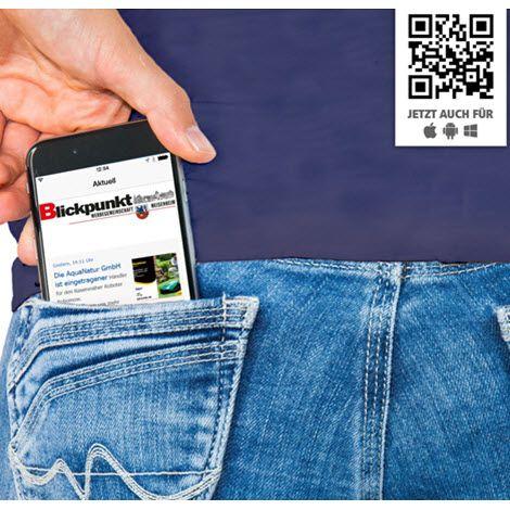 Installiere unsere App - Smartphone App
