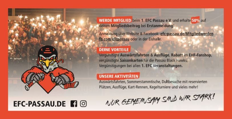 1. EFC Mitglied werden