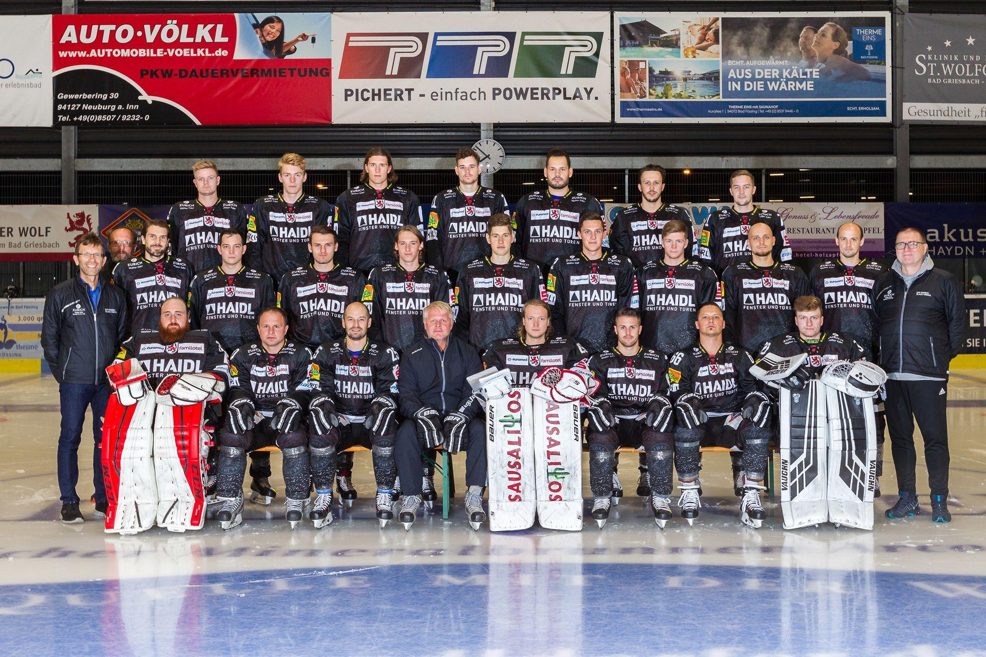 Kader 2019/20 | 1. Eishockey Fanclub Passau e. V.