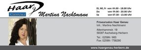 Friseur Salon Haar Genau Martina Nachtmann Ascheberg Herbern