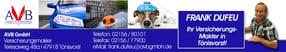 Weiterbildungszertifikate | AVB GmbH Versicherungsmakler in Tönisvorst/Krefeld