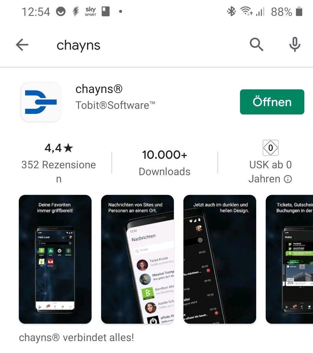 """Antworten rund um """"chayns®"""" - Hilfe"""