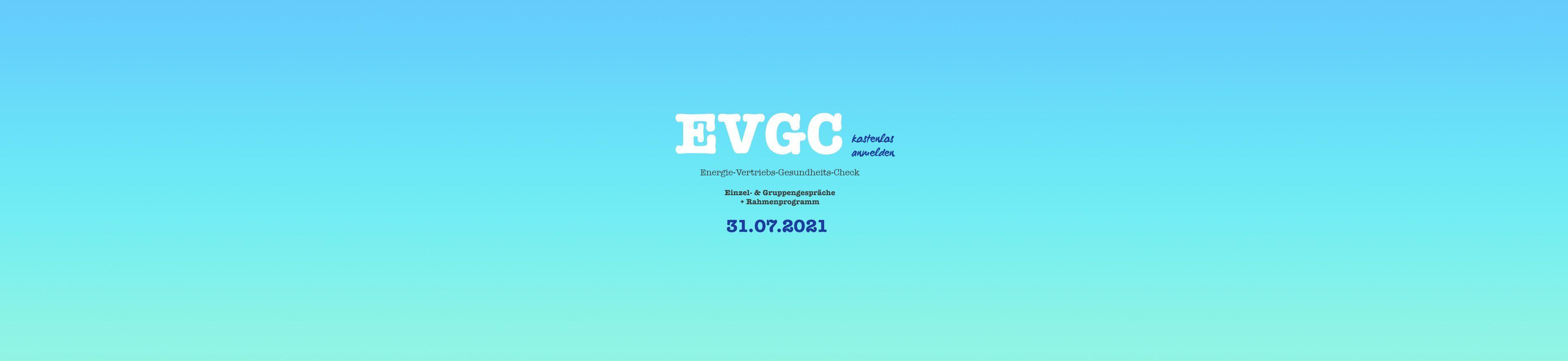Rahmenprogramm / Zeitplan - EVGC -
