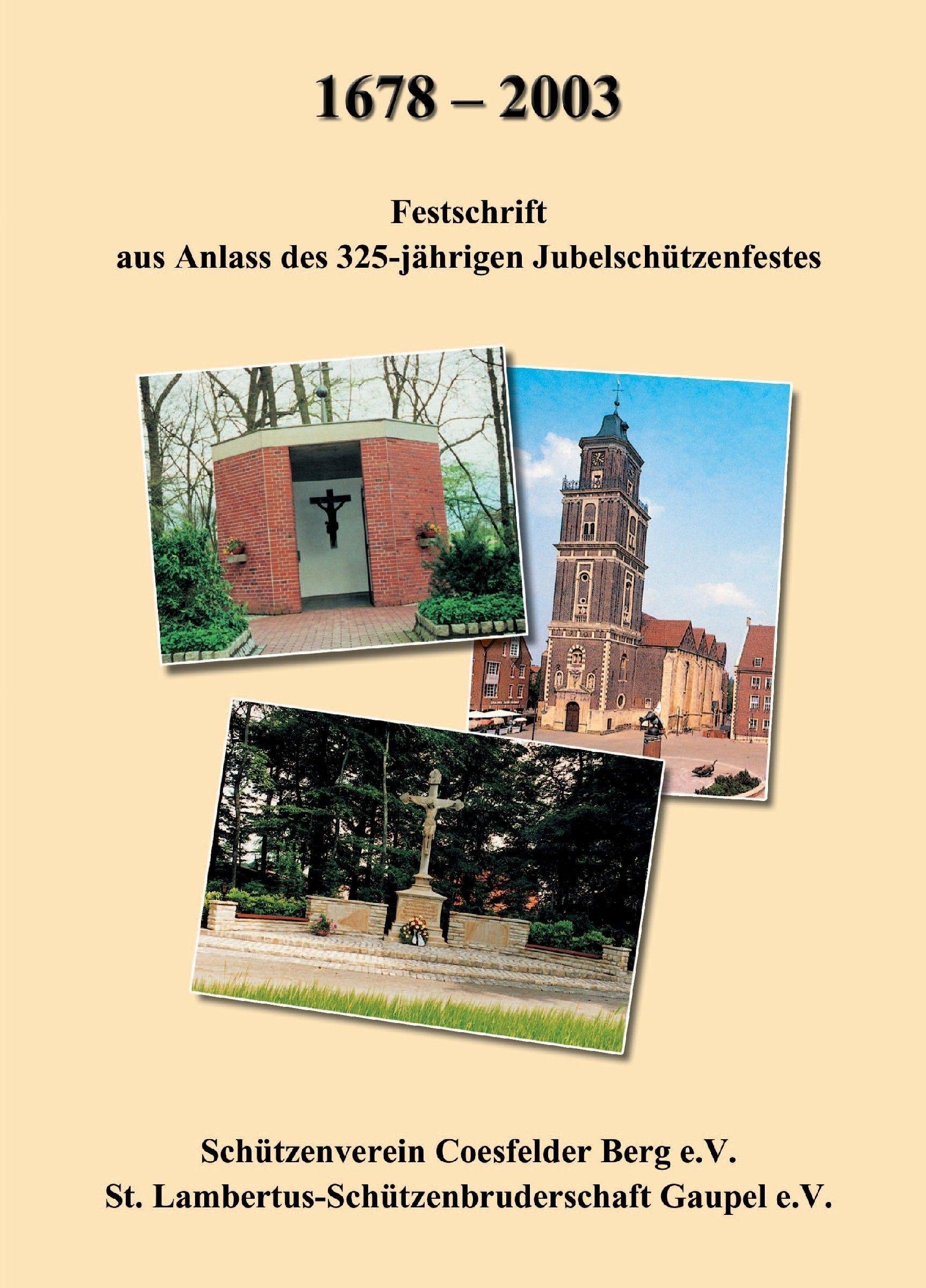 Festzeitschrift aus Anlass des 325-jährigen