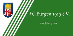 Willkommen!   FC Burgen 1919 e.V.