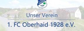 1. Mannschaft | 1. FC Oberhaid 1928 e.V.