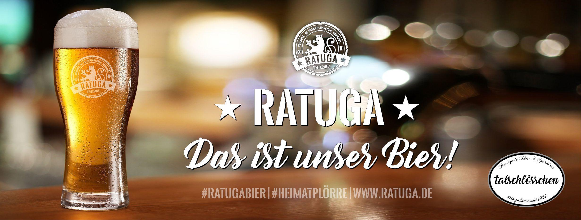RATUGA - das ist unser Bier! - RATUGA Bier