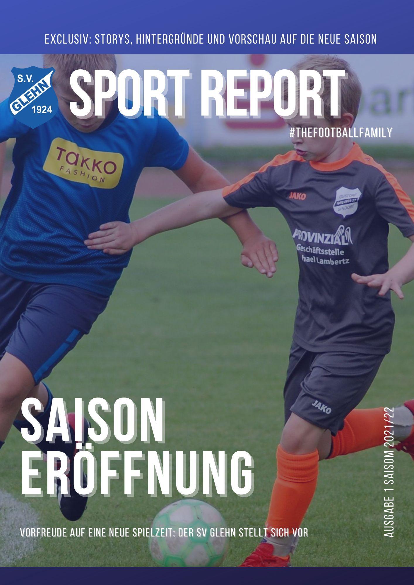 Der Sport-Report - 2021/22   SV 1924 Glehn e.V.