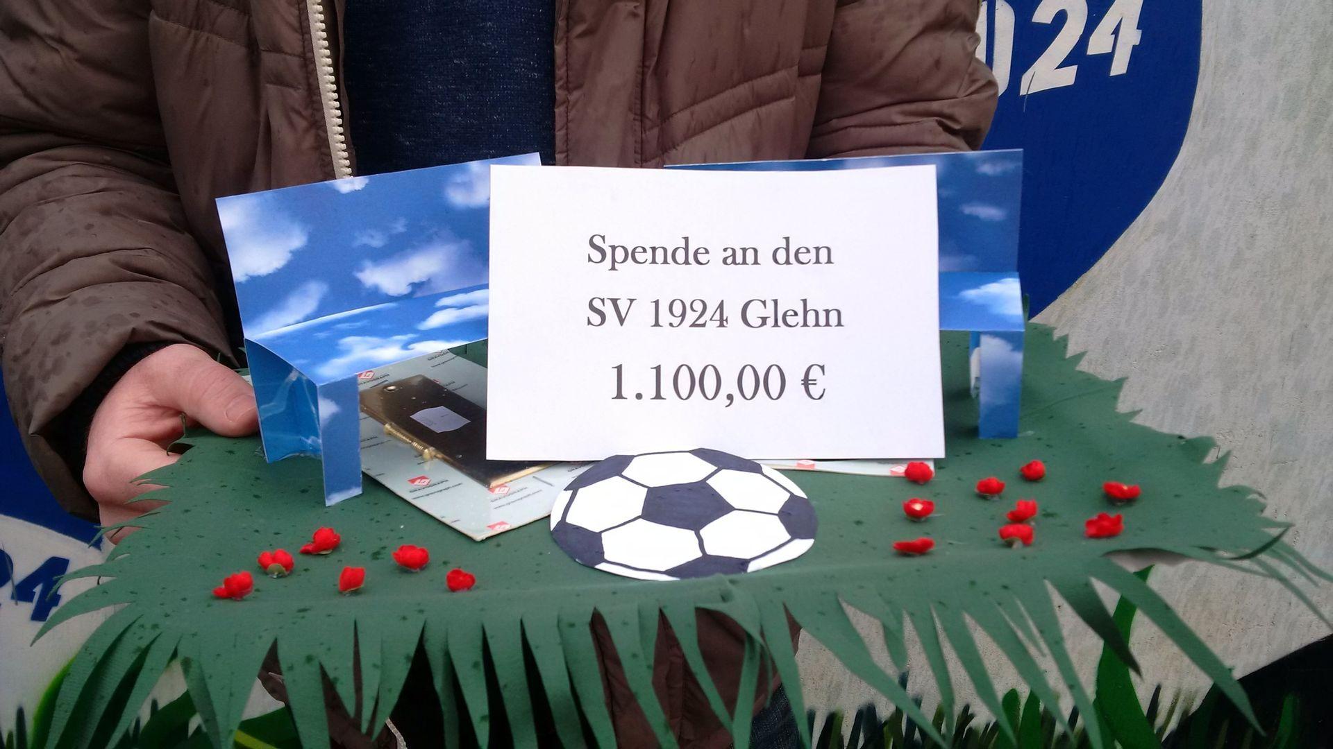 Das Spendenkonto | SV 1924 Glehn e.V.