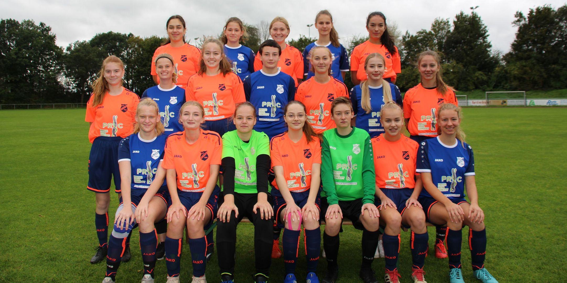 U17-Juniorinnen - Zur Mannschaft