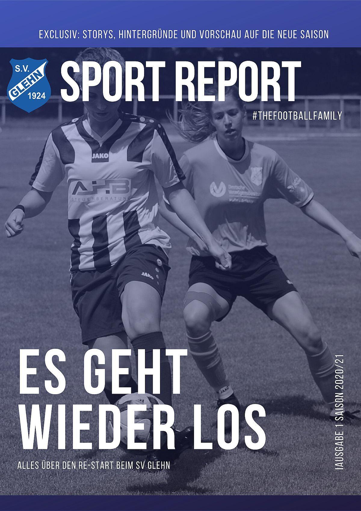 Der Sport-Report - 2020/21 | SV 1924 Glehn e.V.