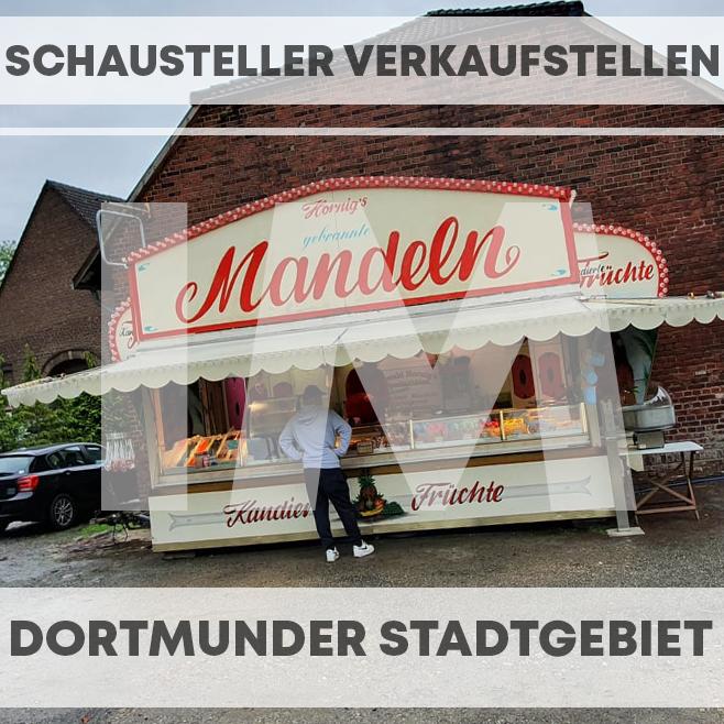 Schaustellerverkaufsstellen in Dortmund